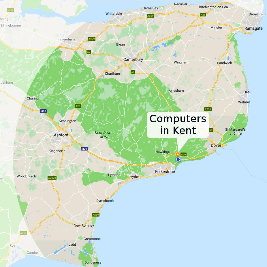 Computers in Kent general area of operation
