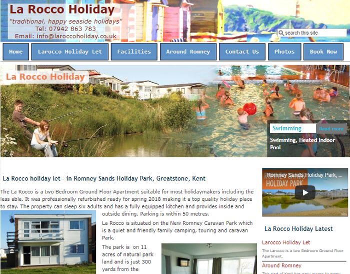 La Rocco Holiday - Romney Sands Park Kent