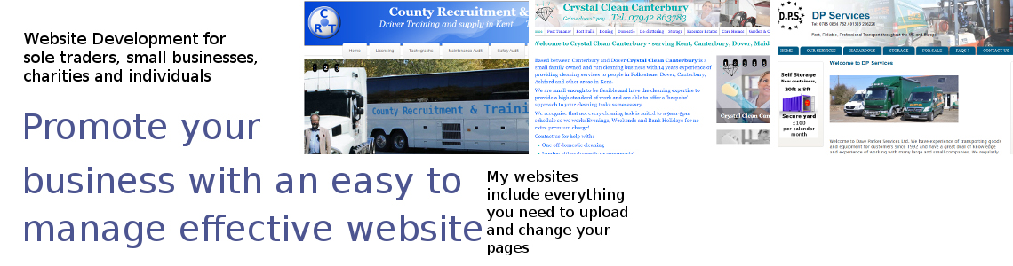 Get a quote for a Computers-in-Kent CMS website